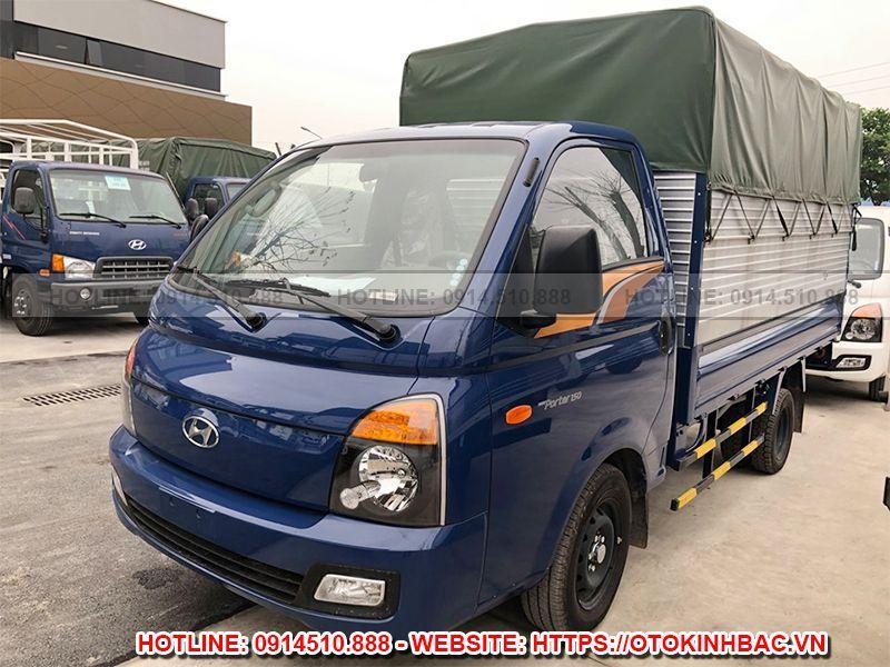 Hyundai H150 thùng mui bạt - New Porter 150 thùng mui bạt 1.5 tấn - Kinh Bắc Auto