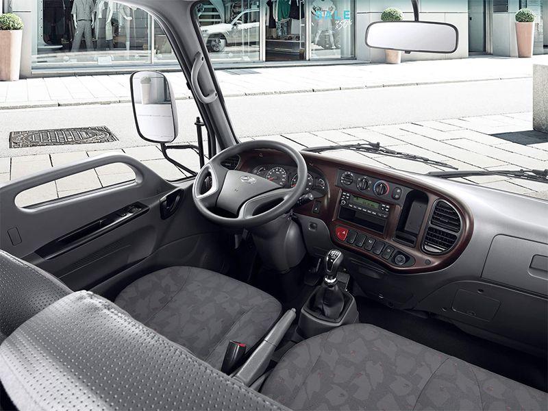 Nội thất xe tải Hyundai N250 - Xe tải 2.5 tấn Hyundai - Kinh Bắc Auto