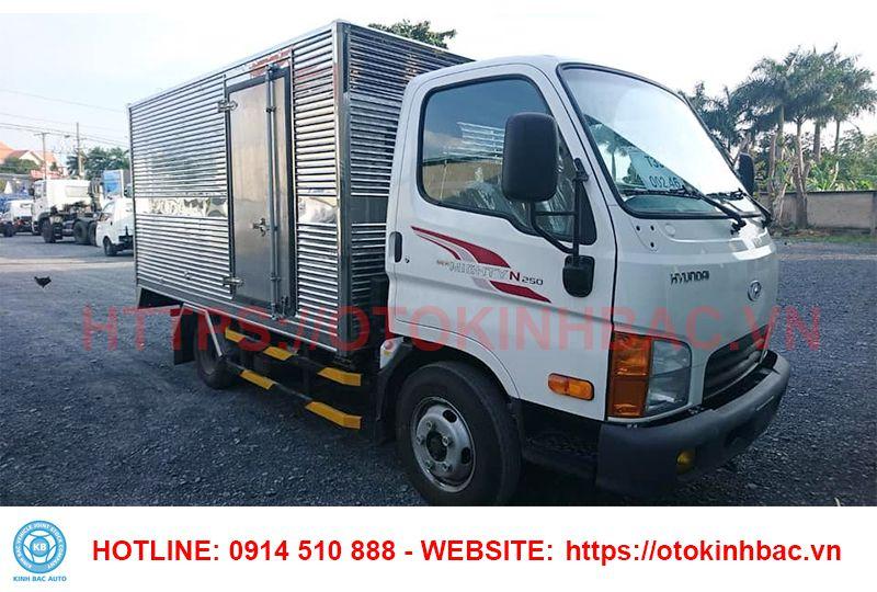 Hyundai N250 thùng kín - Xe tải 2.5 tấn Hyundai - Kinh Bắc Auto