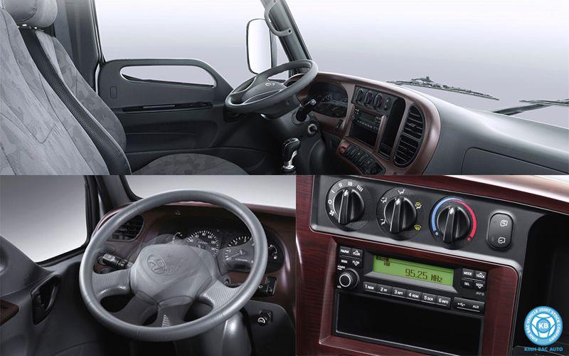 Nội thất xe tải Hyundai New Mighty N250