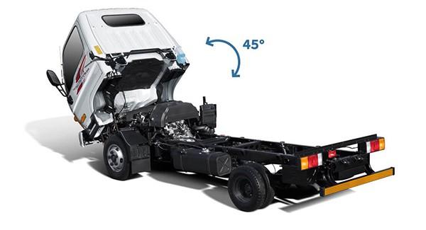 Cabin xe tải Hyundai N250 trọng tải 2.5 tấn - Kinh Bắc Auto