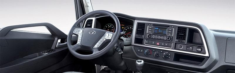 Nội thất Hyundai Mighty Ex Series (Ex6 - Ex8 - Ex8 GT) - Kinh Bắc Auto