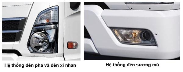 Hệ thống đèn Hyundai Mighty Ex Series (Ex6 - Ex8 - Ex8 GT) - Kinh Bắc Auto