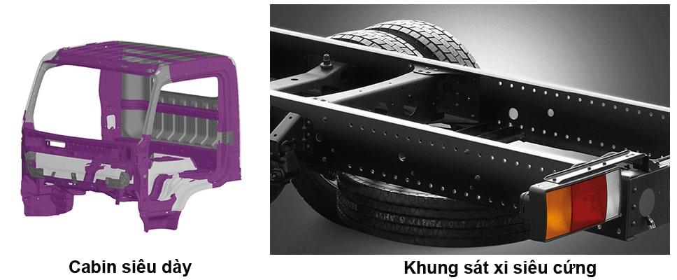 Hệ thống khung sát xi Hyundai Mighty Ex Series - Kinh Bắc Auto