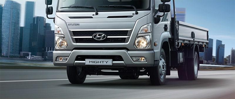 Hệ thống lưới tản nhiệt Hyundai Mighty Ex Series - Kinh Bắc Auto