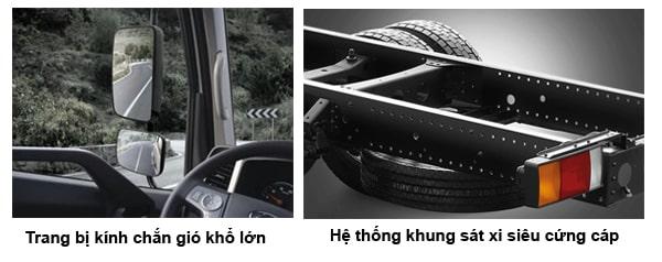 Ngoại thất Hyundai Mighty Ex Series - Kinh Bắc Auto